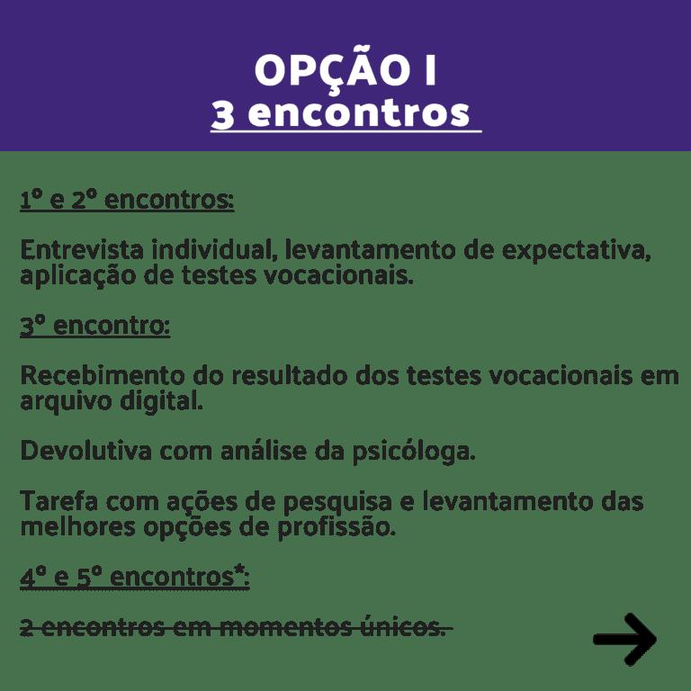 opção I - 3