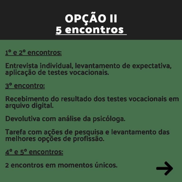 opção II - 3